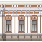 Цветовое решение фасада