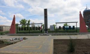 Мемориал в ст. Новоивановской, Новопокровского района